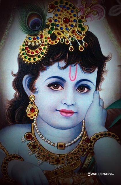 Little krishna images for whatsapp dp