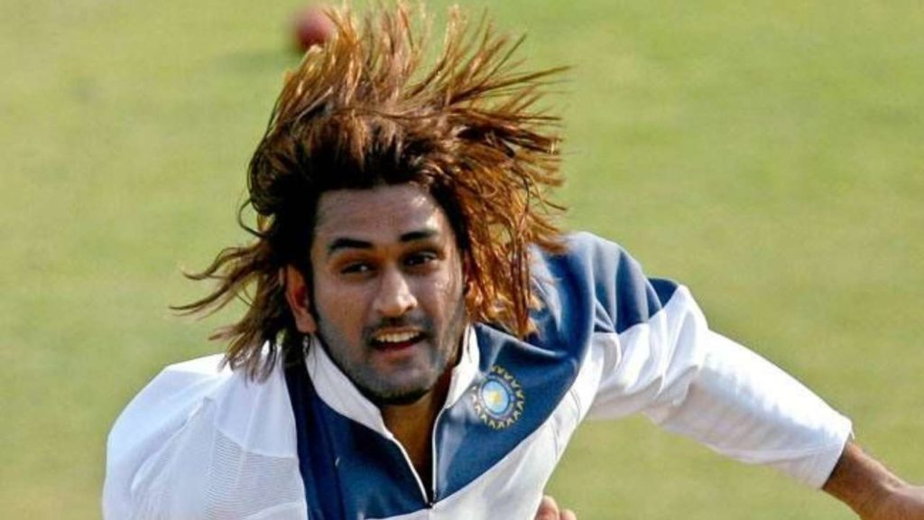 MS dhoni iconic hair style whatsapp profile picture