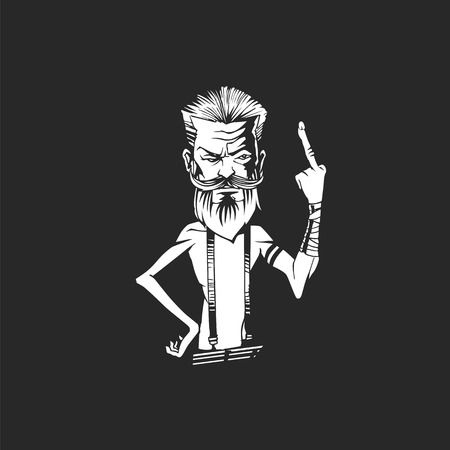 Middle finger attitude image for boys whatsapp dp