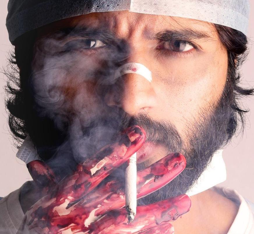 Arjun reddy most sad and angry image for whatsapp dp