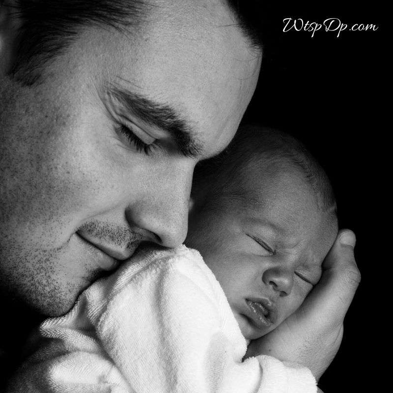 Father's love image for boys whatsapp dp