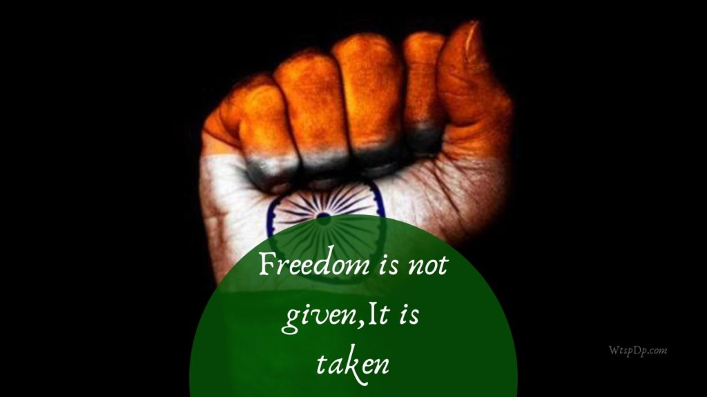 Freedom is not given,It is taken image download