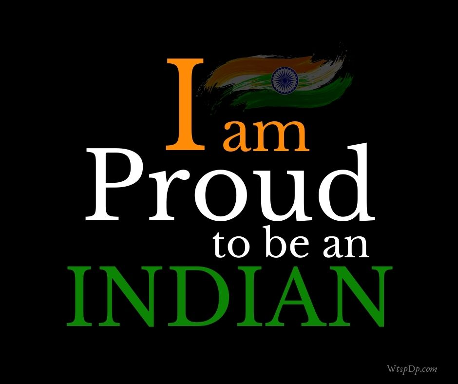 Proud to be an Indian dp image download